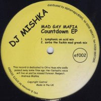 DJ MISHKA MAD GAY MAFIA - Countdown EP