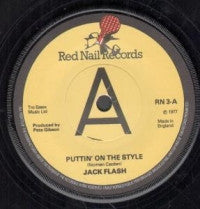JACK FLASH - Puttin' On The Style / Measure For Measure