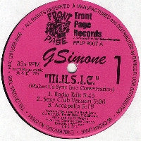 G. SIMONE - M.U.S.I.C. (Makes Us Sync Into Conversation)