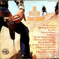 GEOFF LOVE & HIS ORCHESTRA  - Big Western Movie Themes