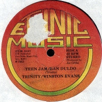 TRINITY / WINSTON EVANS / JOE GIBBS AND THE PROFESSIONALS - Teen Jam / Ban Duldo / Chip In