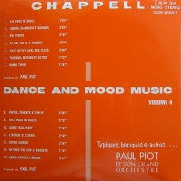 PAUL PIOT ET SON ORCHESTRE - Dance And Mood Music Volume 4