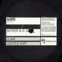 SKYVER & D JON - Claw / Justice (VIP)