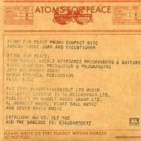 ATOMS FOR PEACE - Judge, Jury & Executioner