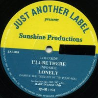 SUNSHINE PRODUTIONS - I'll Be There / Lonely