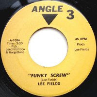 LEE FIELDS AND THE DEVIL'S PERSONAL BAND - Funky Screw / The Bull Is Coming
