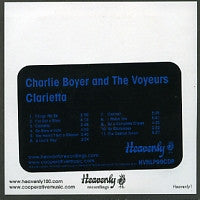CHARLIE BOYER AND THE VOYEURS - Clarietta