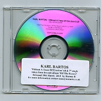 KARL BARTOS - Without A Trace Of Emotion