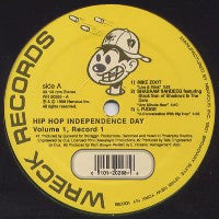 VARIOUS - Hip Hop Independents Day: Volume 1 (Record 1).