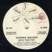 DONNA BAUER - Move Your Feet