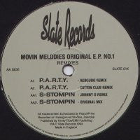 MOVIN' MELODIES - Original EP No. 1 (Remixes)