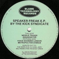 THE KICK SYNDICATE - Speaker Freak E.P.