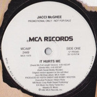 JACCI MCGHEE - It Hurts Me