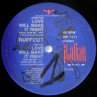 RUFFCUT - Love Will Make It Right
