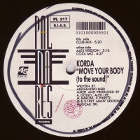 KORDA - Move Your Body (To The Sound)