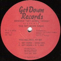 EDWARD 'GET DOWN' CROSBY - You Belong To Me