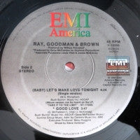RAY, GOODMAN & BROWN - (Baby) Let's Make Love Tonight