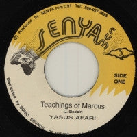 YASUS AFARI - Teachings Of Marcus / Version.
