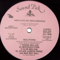 KEITH (THE KEY MAN) EDWARDS - Solutions