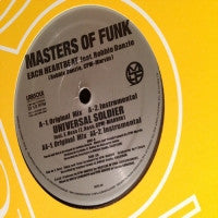 MASTERS OF FUNK - Each Heartbeat / Universal Soldier