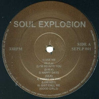 VARIOUS ARTISTS - Soul Explosion
