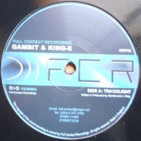GAMBIT & KING-E - Tracklight / Black Seed
