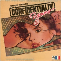 GEORGES DELERUE - Confidentially Yours Plus Other Great Works By Georges Delerue