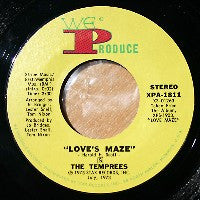 THE TEMPREES - Love's Maze / Wrap Me In Love