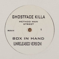 GHOSTFACE KILLA / CALL OF DA WILD - Box In Hand (Unreleased Version) / Intellectual Dons