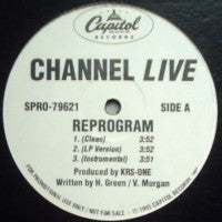 CHANNEL LIVE - Reprogram