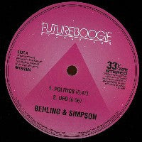 BEHLING & SIMPSON - Behling & Simpson EP#