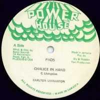 CARLTON LIVINGSTON - Chalice In Hand / Dance Version.