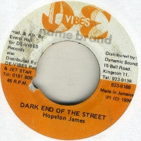 HOPETON JAMES - Dark End Of The Street