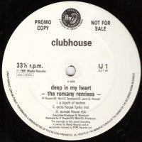 CLUBHOUSE - Deep In My Heart / Everybody