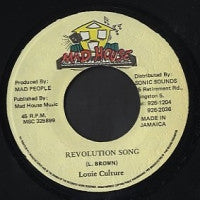 LOUIE CULTURE - Revolution Song / Gangsters Anthem (Version)