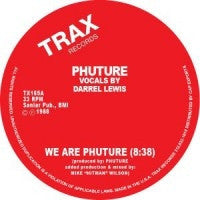 PHUTURE - We Are Phuture / Slam! / Spank-Spank