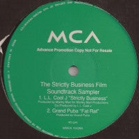 VARIOUS ARTISTS - Strictly Business Film Soundtrack Sampler