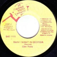 GLEN RICKS - Rainy Night In Georgia