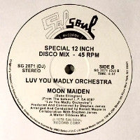 LUV YOU MADLY ORCHESTRA - Rocket Rock / Moon Maiden