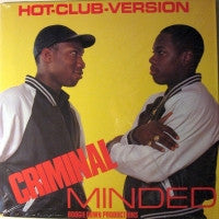 BOOGIE DOWN PRODUCTIONS - Criminal Minded Hot Club Version