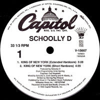 SCHOOLLY-D - King Of New York