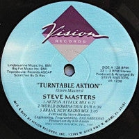 STEVE MASTERS - Turntable Aktion / It's A Wild Trip