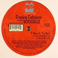 FRANKIE FELICIANO PRESENTS BOOGALU - A Place In The Sun / One Note Samba