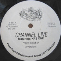 CHANNEL LIVE & KRS-ONE - Free Mumia
