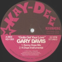 GARY DAVIS & SANCTION - Gotta Get Your Love