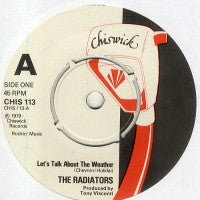 THE RADIATORS - Let's Talk About The Weather