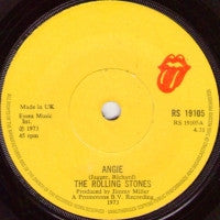 THE ROLLING STONES - Angie / Silver Train