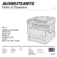 AUSMUTEANTS - Order Of Operation