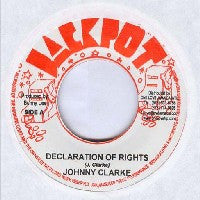 JOHNNY CLARKE / KING TUBBY & THE AGGROVATORS - Declaration Of Rights / Version.
