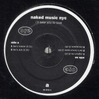 NAKED MUSIC NYC - I'll Take You To Love